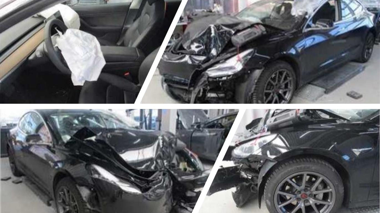 Upozornění AOOA: V ČR jezdí první bouraný ojetý elektromobil z dovozu po totální škodě